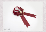 SweetDreamer Stars ~ Lolita hairpin/minihat with beadchain & lace bow