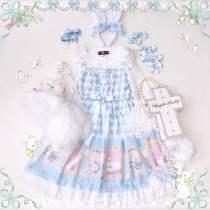 Diamond Alice~Sweet Print Lolita JSK/ Jumper skirt