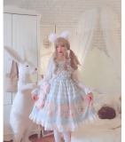 Diamond Alice~Sweet Print Lolita JSK/ Jumper skirt