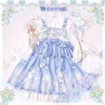 Lily of the valley~Sweet Girl Lolita JSK/ Jumper skirt