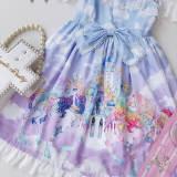 Lovely Dream Unicorn Printing Lolita Jsk Dress