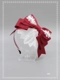 SweetDreamer Sweet lolita lace bow resin pendant headbow/KC A maiden's prayer