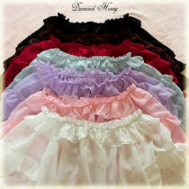 Summer Sweetheart Chiffon Falbala Short Sleeve Lolita Blouse