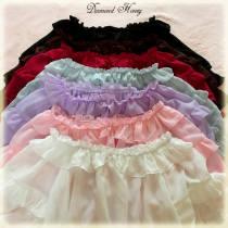 Summer Sweetheart Chiffon Falbala Short Sleeve Lolita Blouse