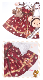 Gift Box Bear~Sweet Doll Lolita JSK/Jumper skirt