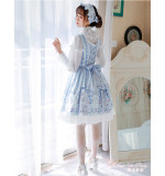 Swan lake~Sweet  Printing Daily Lolita Jsk Dress