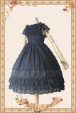 INFANTA~obsidian~Lace Flower Wedding JSK One-piece Dress