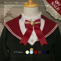 Sweetdreamer Caldwell Lolita bow button brooch