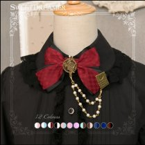 Sweetdreamer Goodbye Alice hand make poker - chain Lolita brooch