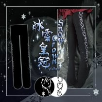 【Yidhra】Witch of Dreams~Ice crown lolita tights