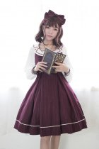 *Neverland*Morning Star Idol Academy College style crossover strap lolita jsk dress