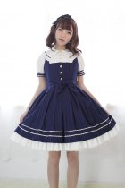 *Neverland*Morning Star Idol Academy doll collar normal waist jsk dress