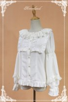 *Neverland*Sweet tea pastry lantern sleeve doll collar lolita shirt