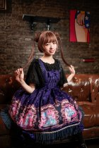 Neverland*Opera cats*printing daily lolita  jumper skirt