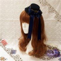 c958a5d30289e L The rabbit poker Lolita sweet mini hat with blue phnom penh