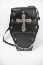 loris*Gothic Coffin Cross Lolita Bag