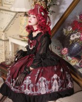Perfume bottles ~Sweet Lolita Accessories/bonnet/hairclip