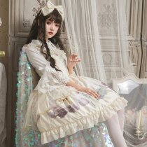 The old dream~Court Vintage Lolita Jsk Dress