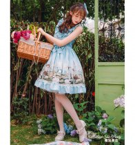 The Afternoon of a Faun~Printing Daily Lolita Jsk Dress Vreiosn Ⅱ