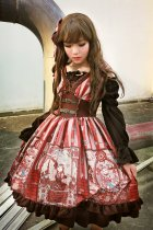 *Neverland*Steam punk cat high wasit sleeveless lolita dress pre-order