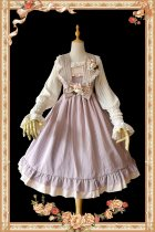 Lace~Elegant and refreshing Lolita Jumper skirt
