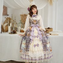 Evening of the gods~Elegant Vintage Lolita OP Dress