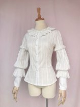 Elegant Lolita Blouse Long Sleeve