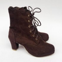 Sweet Princess Lolita Suede Ankle Boots