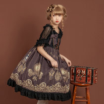 Time gear~Steampunk Lolita JSK Dress