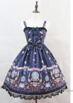 Ballet Music Box Print Lolita JSK/Jumper skirt