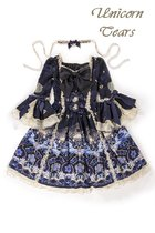 City Called Heaven~Gorgeous Print Long Sleeve Lolita OP Dress