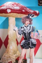 Fox's clinic~Daily Sweet Print  Lolita Pants  Pre-order