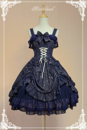 *Neverland*The stars words and wishes JSK dress  lolita JSK dress Version Ⅰ