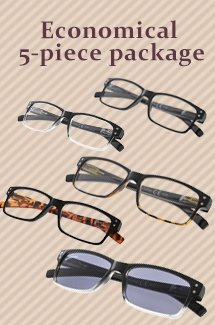 eyekepper 5 pack reading glasses