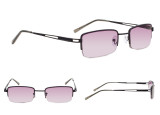4 Pairs Mix Rectangle Half-rim Spring Temples Reading Glasses R15014
