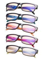 5 Pack UV Protection Computer Glasses with Amber Tinted Lens CG054