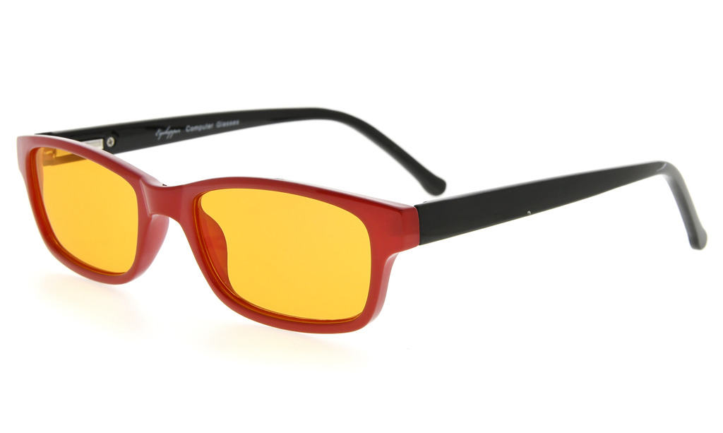 cfbd5c669b Computer Glasses 99% Blue Light Blocking 100% UV Protection Tinted Lens For Children  Red-Black DSK02 Item NO  DSK02-Red-Black