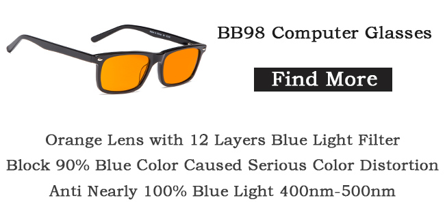 Eyekepper BB98 blue blocking glasses for women men