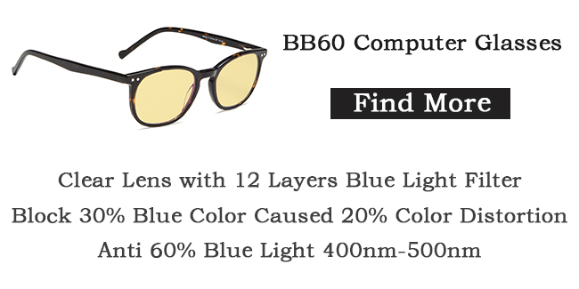 Eyekepper BB60 computer glasses blue light blocking