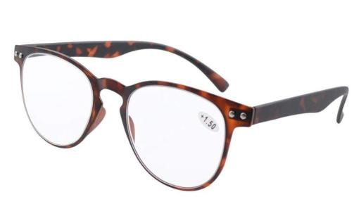 Reading Glasses Quality TR-90 Flexable Frame Women Men Tortoise R060