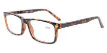 Spring Hinges Reading Glasses For Men Women Tortoiseshell R899-6