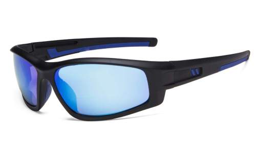 Bifocal Sunglasses for Sports TR90 Outdoor Blue-Mirror S045-Bifocal