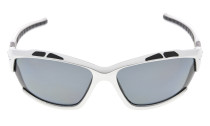 Sunglasses Polarized Polycarbonate TR90 Unbreakable Sport Silver/Grey Lens TH7007