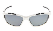 Sunglasses Polarized Polycarbonate TR90 Unbreakable Sport White/Grey Lens TH7007