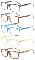 5-Pack stilvolle Federscharniere Lesebrille R802-Mix