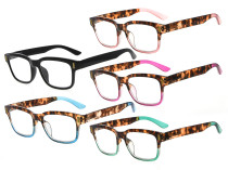 Lesebrille Stilvolle Brille 5 Paar Mix Farbe RT1802-5St-Mix
