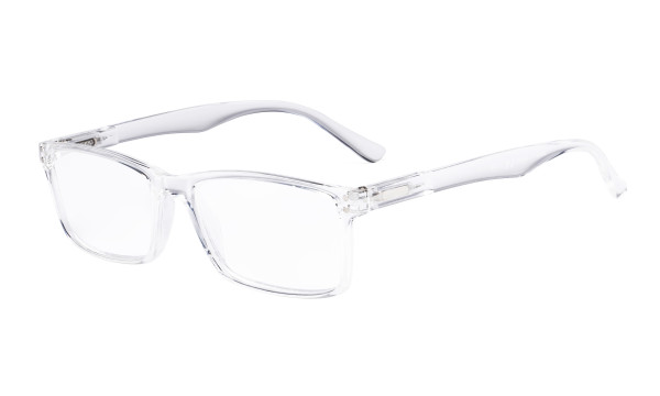 Stylish Readers Quality Spring Hinges Reading Glasses Transparent Frame R802
