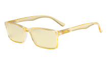 Computer Glasses - Blue Light Blocking Readers with Yellow Filter Lens - Stylish Reading Glasses  - Yellow TM802