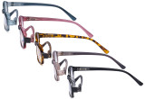 5 Pack Small Reading Glasses for Women Reading Fashion Readers R908K-Mix