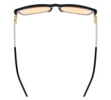 Computer Reading Glasses with Acetate Frames and Tinted Lens Black AH6208